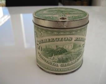Perfectos Finos Virginia Cigarette Tin (50/empty) by John Players c.1940/50
