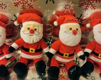 Personalized Santa Plush