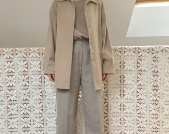 oversized minimalist vintage shirt