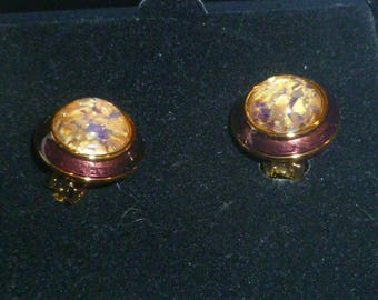 Vintage Joan Rivers Clip on Earrings