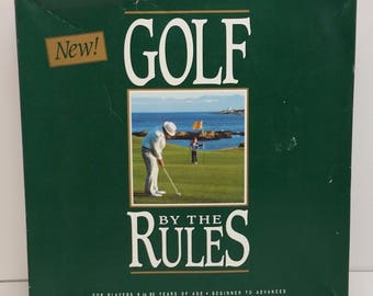 Golf by the Rules Vintage Board Game