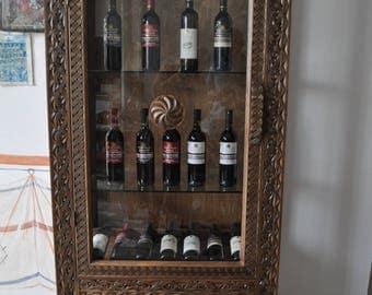 wine closet from fine wood hand made