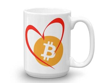 Bitcoin Love Mug