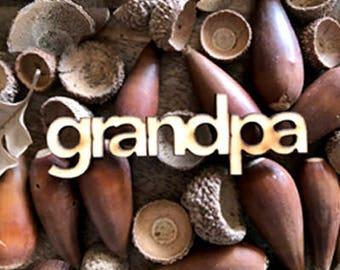 Grandpa Milestone Marker for The Milestone Growth Chart Ruler Board