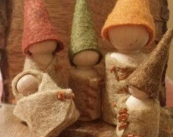 Gnome Family- Made to Order!