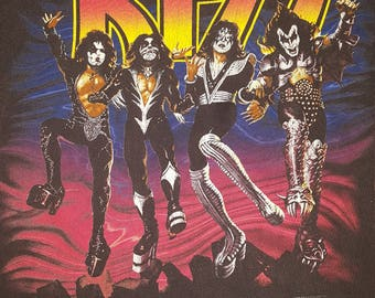 KISS Destroyer t shirt 76-96 20 years of destruction.