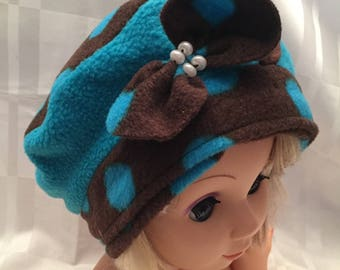 Cap fleece girl