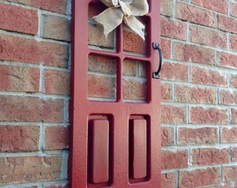 Rustic Hanging Decorative Door, Rustic Handcrafted Decorative Door, Wooden Rustic Wall Art.
