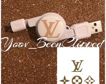 LV Android  retractable   USB charger