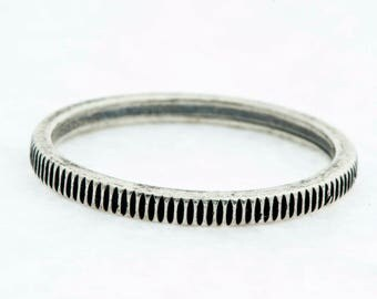 Silver Coin Cog Ring Custom Handmade Urban Style Jewelry