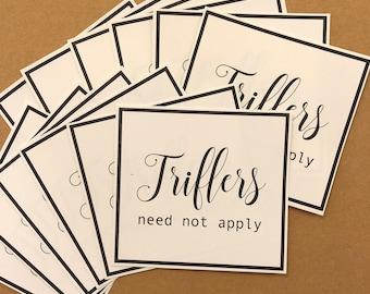 MFM Triflers Sticker