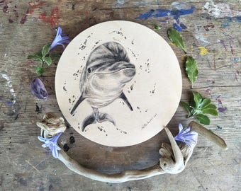 Dolphin Smile - Original Artwork