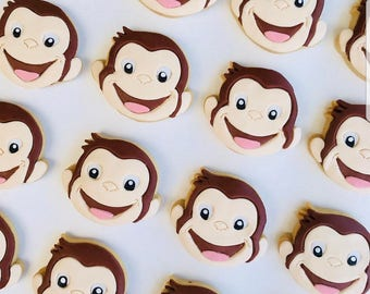 Cute Curious George Monkey Cookie Cutter 3D Printed in Australia | Great for Birthdays | Cakes | Biscuit | Cookies