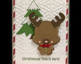 Moose Christmoose Time Is Here