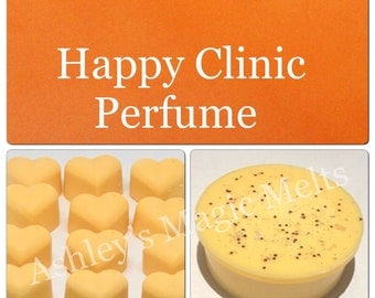 3 happy clinique perfume soy wax melts, designer wax melts, strong wax melts, long lasting melts, best wax melts, cheap wax melts