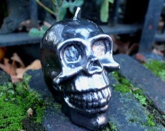 Skull Candle - Handmade