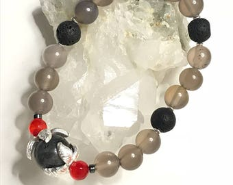 Lava Stones, Hematite, carnelian and more
