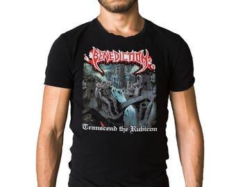 Benediction Transcend The Rubicon 1993 Album Cover Black T-Shirt