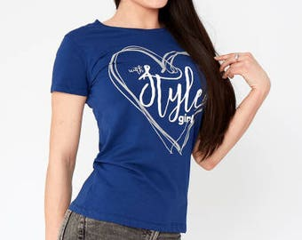 With Style Girl T-shirt