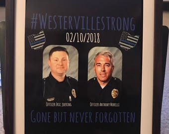 WestervilleStrong, thin blue line