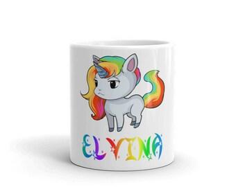 Elvina Unicorn Mug