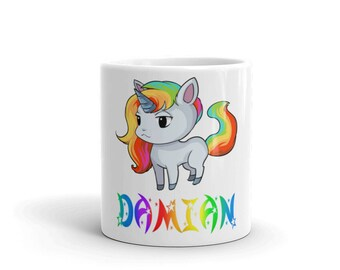 Damian Unicorn Mug