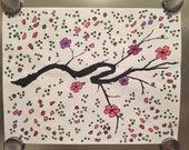 Cherry Blossom / Goal Coloring Sheet / Savings Tracker / Debt Payoff Tracker