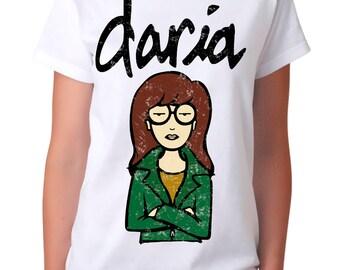 Daria MTV Retro T-shirt, Men's Women's All Sizes