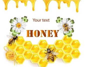 Pure Honey Label