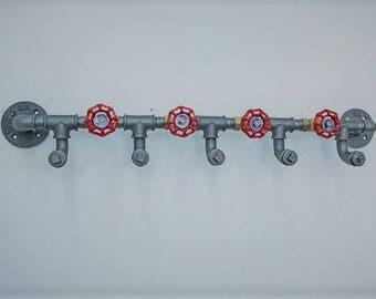 Steampunk,Industrial design rack steel pipe