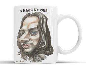 Faceless Man Mug