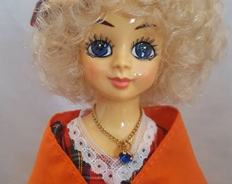 1986 September Brinns Musical Collector Doll Vintage