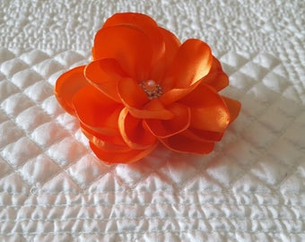 4'' Water Lily Flower Hairpiece