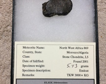 Meteorite North West Africa 869