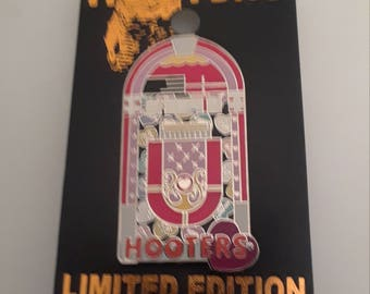 LIMITED EDITION Hooters Jukebox Pin