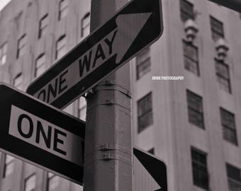 One Way - Digital Photo Download