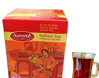 25 Spanish saffron teabags premium quality
