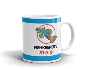 Aquarium Fish Lover Mug - Aquarium Owner Mug - Fishkeeper's Mug - Coffee Drink Mug