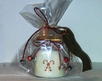 "Holiday Candle Decoration #4 | 2.75""h x 2.25""w (small)"