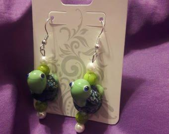 Earrings: Turtle Love