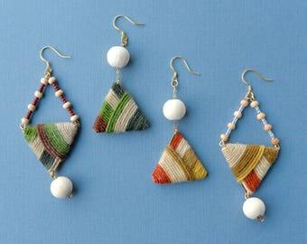 Handmade Asymmetric Earrings