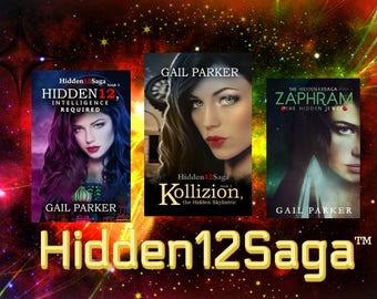 Hidden12Saga YA- Adult 3 Book Suspense Thriller Series Zaphram, Kollizion