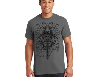 Knight and Armor Tshirt, Tee, Shirt, Gift for Her, Gift for Him