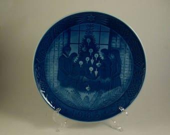 1983 Royal Copenhagen Christmas plate