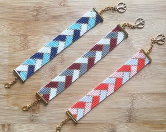 Handmade Bohomian Bracelets Miyuki Delica 3 Models eaded Dainty Gemstone Gift for Sister, Daughters, Girlfriend, Mothers