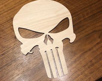 Punisher Skull - Laser Cut
