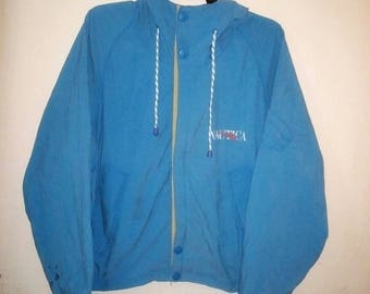 FREE SHIPING Vintage 90's Nautica sailing gear medium size