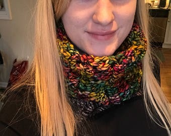 Luxury knit scarf