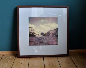 "Poster Print art print ""Tioga Lake"" California/Yosemite/Landscape/photography/polaroid/Wall decoration/pressure/Photo/Natur"