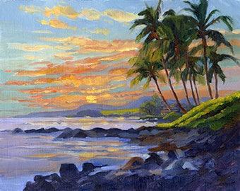 Poipu Sunset, Kauai